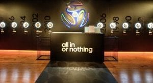 Adidas Harrods World Cup shop install