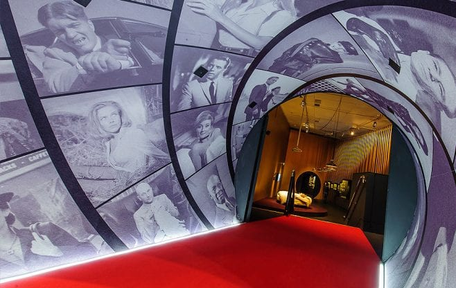 James Bond exhibition