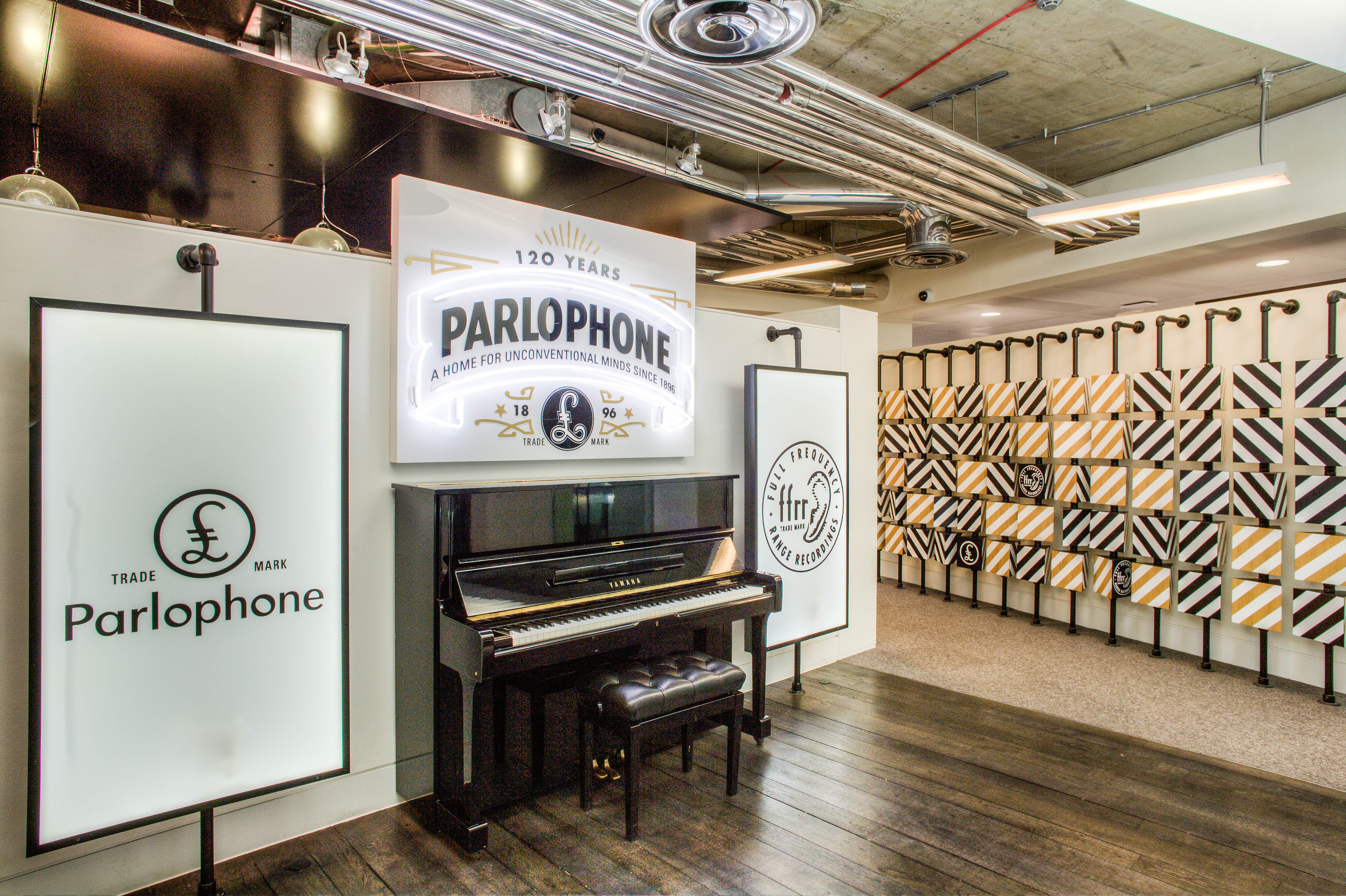Warner Music Offices Graphic Installation