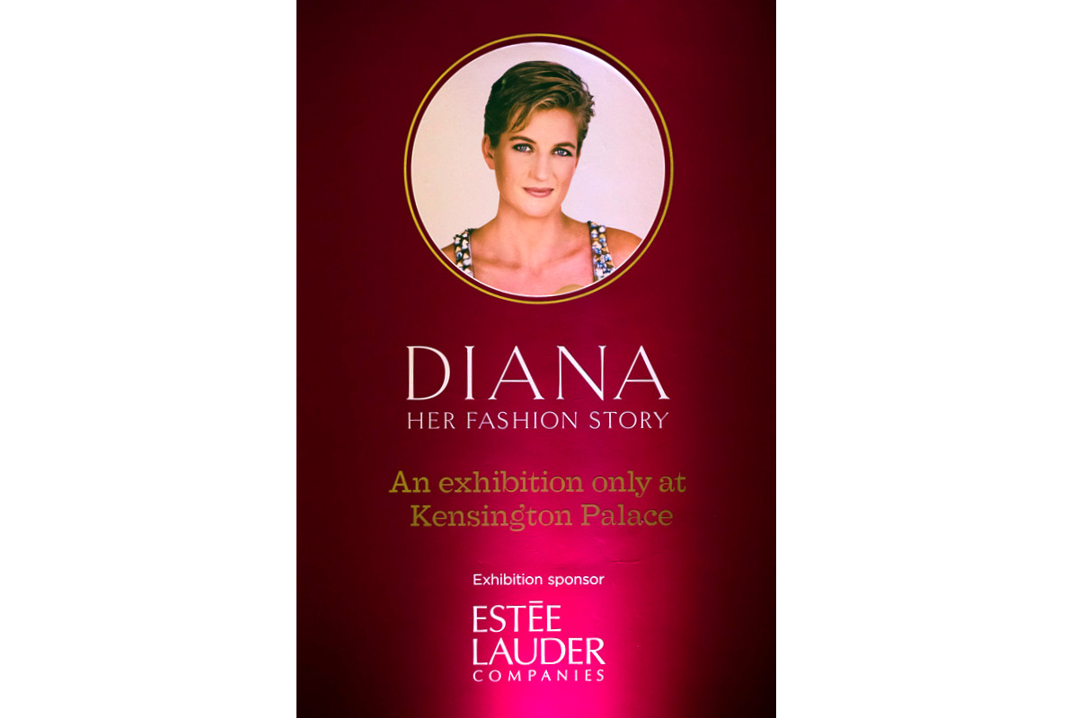 Diana: Her Fashion Story Exhibition Graphics