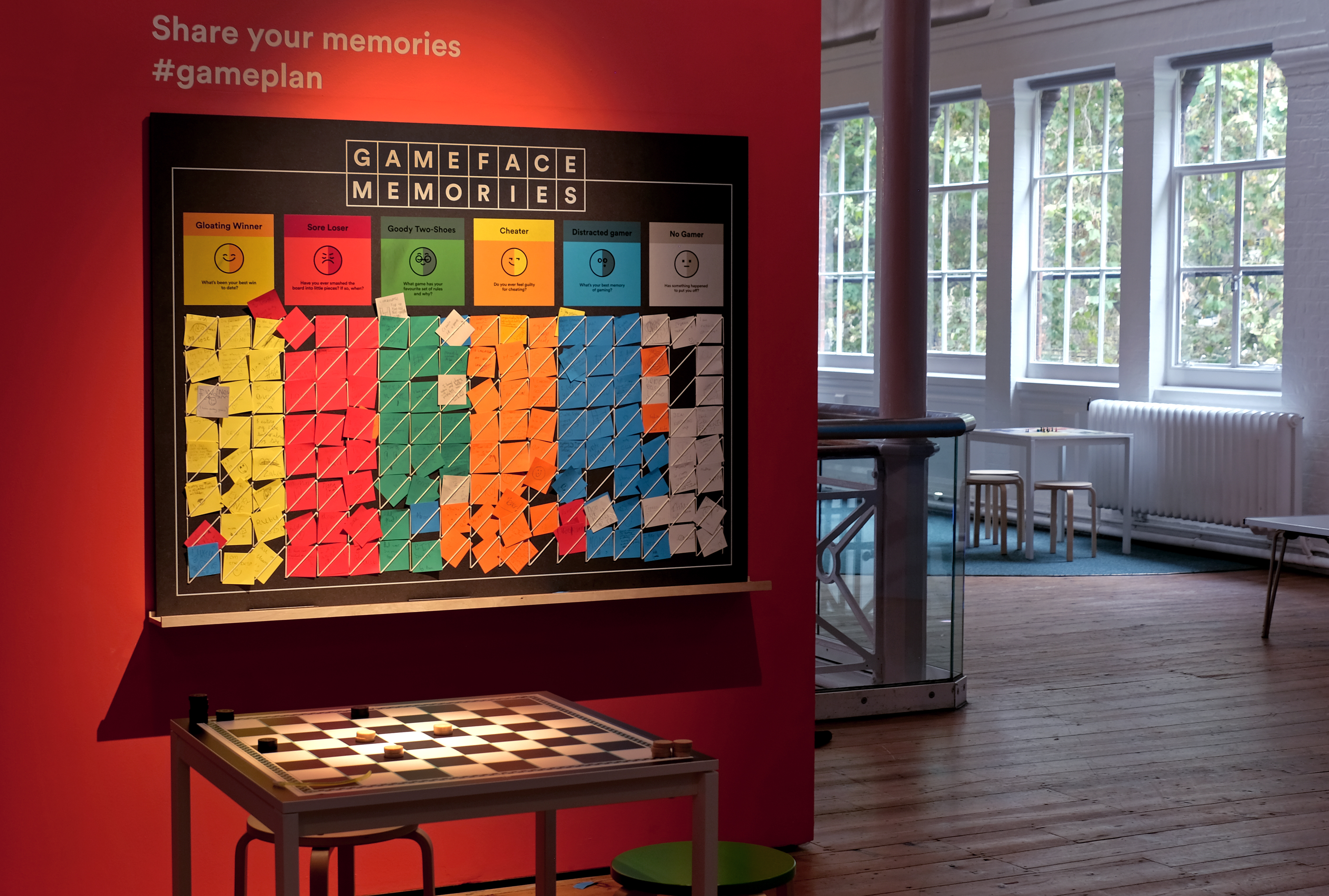 V&A Museum of Childhood Game Plan exhibition