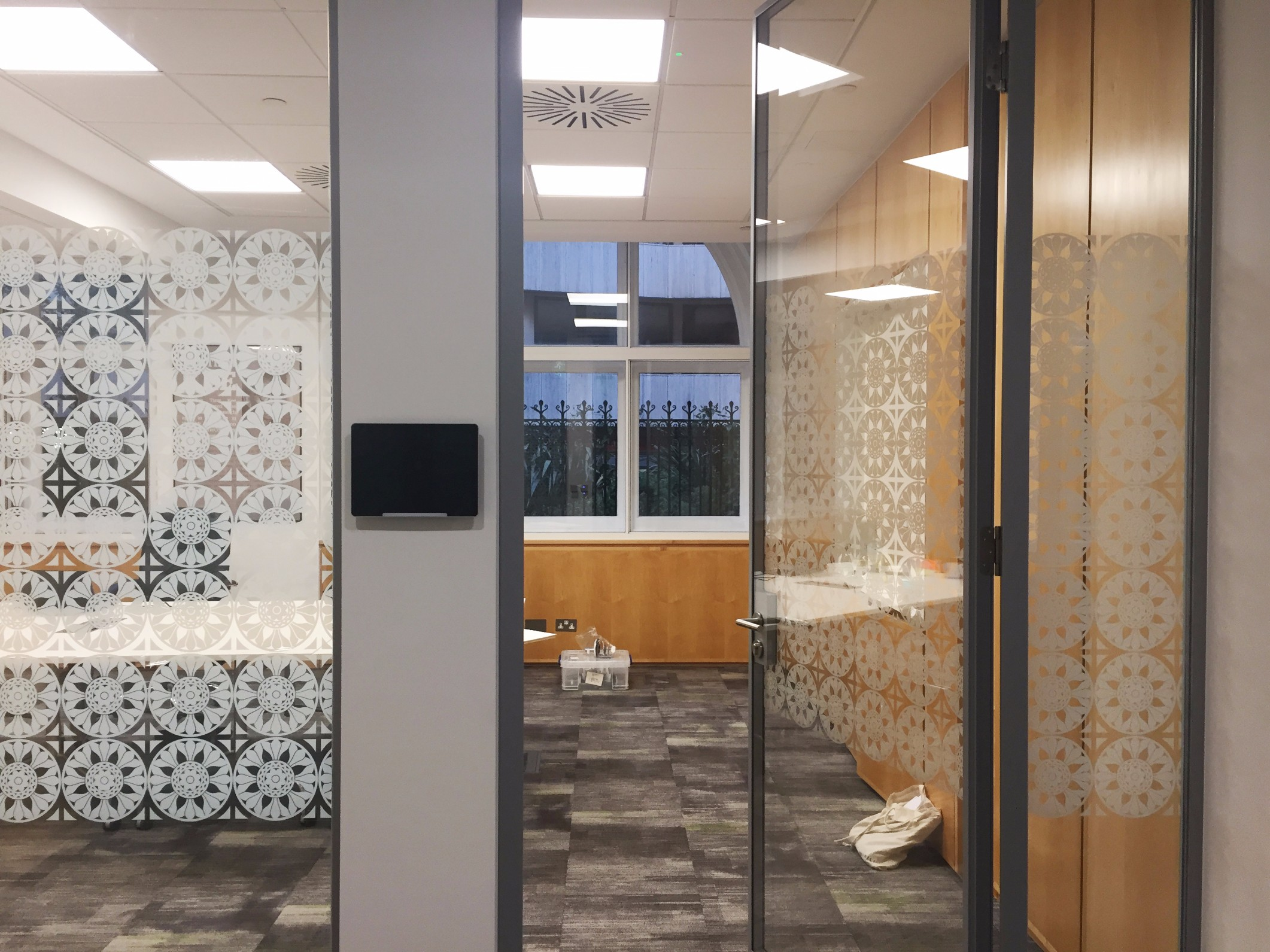 Prudential office graphics