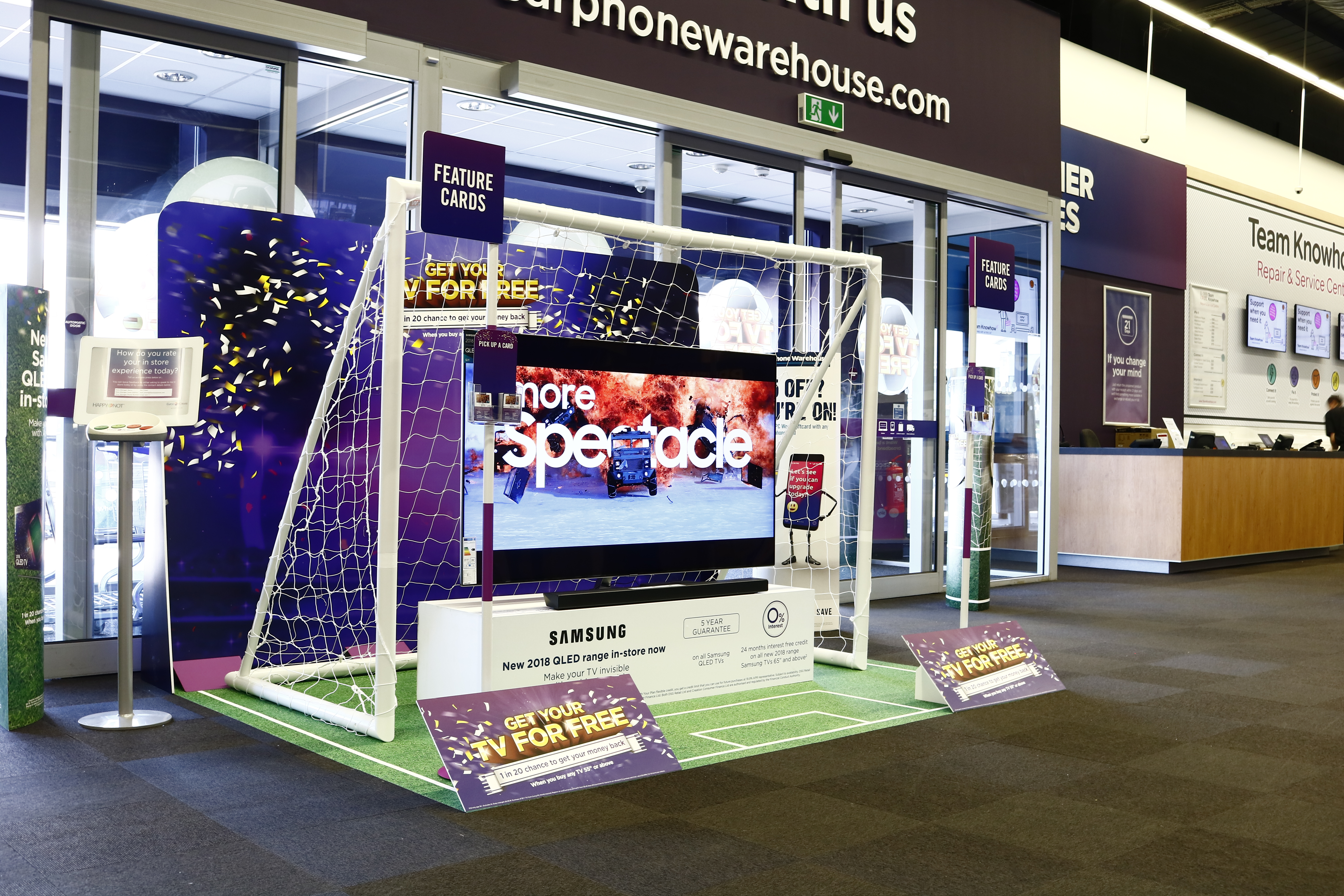 World Cup install Currys PC World